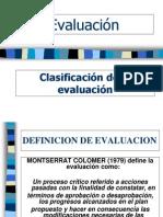 1 Tipos de Evaluacion