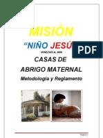 Tasas Abrigo Maternal - Misión Niño Jesús