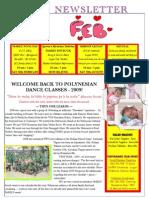 Heilani Halau Newsletter February 2009