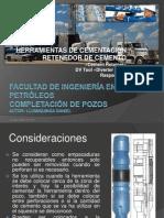Herramientas de Cementación (Retenedor de Cemento, DV Tool, Raspadores)