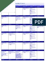 MTF Term 2 Timetable FT