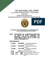 Trabajo Sobre Obesidad en Lima