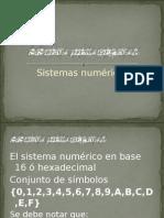 Sistema Numerico Hexadecimal