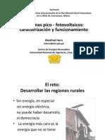 Costos de Energia Fotovoltaica