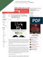 Kontemplasi Dee Yang Hilang Dari Rectoverso - Jakartabeat