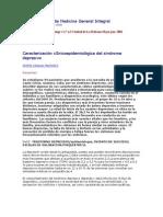 Caracterización clInicoepidemiológica del síndrome depresivo