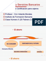 Productos y Servicios Bancarios Clase 2 - 3