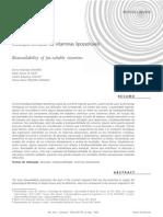 Biodisponibilidade de vitaminas lipossolúveis (1)