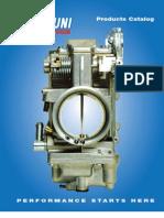 Mikuni Carburetor Catalog 2012