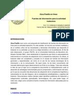 Fuentes de información para traductores
