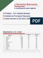 Productos y Servicios Bancarios Clase 5