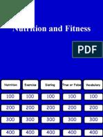 Jeopardy Nutrition