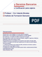 Productos y Servicios Bancarios Clase Nueva