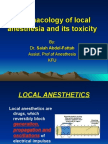 Pharmacology of Local Anesthesia