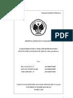 Proposal LP2M Karakteristik Film Plastik