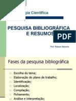 Pesquisa Bibliografica e Resumos