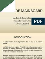 Clases de Mainboard