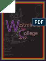 westminster transfer student website analysis