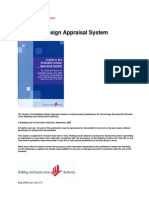 BCA - Guide to Buidable Design Appraisal System Jan 07