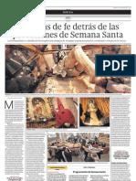 Historias de fe detrás de las procesiones de Semana Santa (23-03-2013) - El Comercio Arequipa