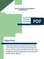 Algoritma Dan Konsep Pemrograman