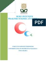 Buku Petunjuk Praktikum Kimia Analitik 1 (Ge)