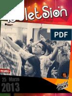 Boletín Juventud Sión MAXIMA VELOCIDAD-MAS CERCA DE LA LLAMA 25 DE MARZO DE 2013