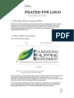 FPE Logo Usage Guide