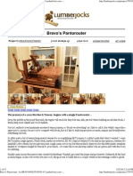Bravo's Pantorouter - By BRAVOGOLFTANGO @ LumberJocks.com ~ Woodworking Community