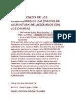 Vision Alkimica de Los Resonadores de Luz y Meridianos