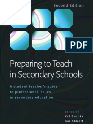 Preparing to Teach in Secondary Schools pdf | Curriculum | Teachers