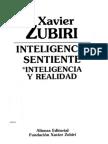 Zubiri, Xavier - Inteligencia Sentiente - Inteligencia y Realidad [1980 - 1991]