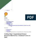 PHD 2013 -2014 Shell