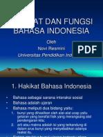 Hakikat Dan Fungsi Bahasa Indonesia.ppt