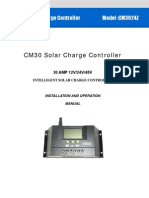 Manual Solarni Regulator Cm3024z 12 24v30a s Lcd