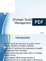 Module 1 Strategic Quality Management