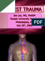 Chest Trauma Basics
