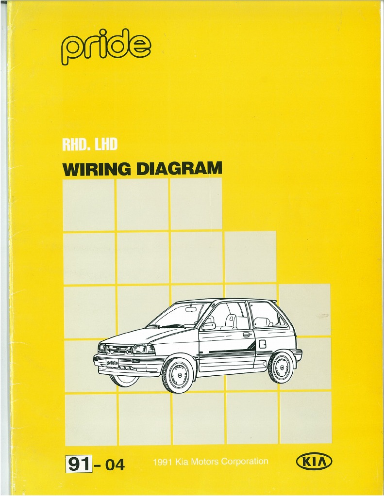 91 kia pride wiring diagram  kia automotive wiring diagrams #7