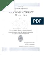 Komunikación popular y alternativa