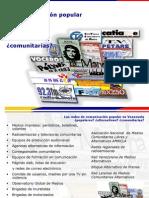Las Redes de Comunicación Popular en Venezuela