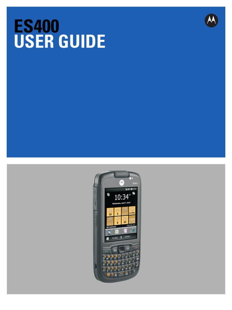 manual es400 motorola bluetooth multimedia messaging service rh scribd com Motorola ES400 Case Motorola Symbol
