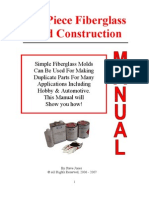 Fiberglass Mold Manual Very Instructive