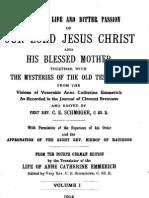 Revelations to St. Anna Catherine Emmerich - 1
