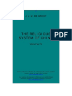 De Groot_The Religious System of China IV_The Soul and Ancestral Worship
