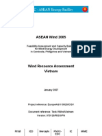 Wind Resource Assessment Report 4Vietnam