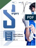 surgery Lec # 5