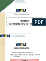 Week08-FCC 133 Citation Documenting Information Sources