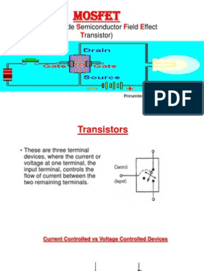 Mosfet PowerPoint Presentation | Mosfet | Field Effect Transistor