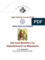 San Juan Bautista y Su Importancia en La Masoneria-2