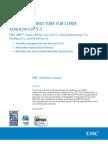 Solution - EMC VNX - NFS for XenDesktop 5.5 - XenApp 6.5 - XenServer 6
